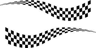 2 X Large Chequered Flag Vinyl Stickers 3 Sizes Race Car Van Cliparts Co