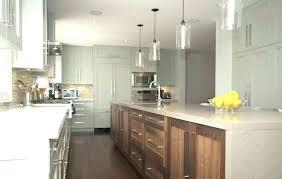 hanging pendant lights over kitchen