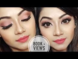 easy summer makeup tutorial peachy