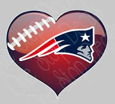 Patriots Heart Love Vinyl Car Decal Sticker Outdoor Rated For Up To 7yrs Ebay