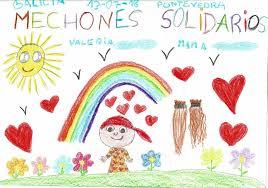 Hoy publicamos un bonito dibujo 🎨 que... - Mechones Solidarios ...