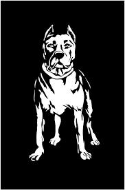 Pit Bull Dog Decal Custom Vinyl Car Truck Window Sticker Personalize Customvinyldecals4u