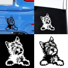 Buy Yorkie Decal At Affordable Price From 3 Usd Best Prices Fast And Free Shipping Joom