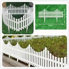 flexible plastic garden picket fence