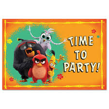 Angry Birds 2 Invitations 8ct