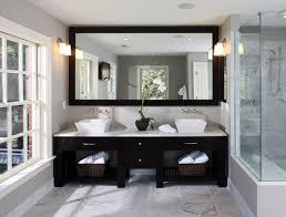when ing a bathroom mirror