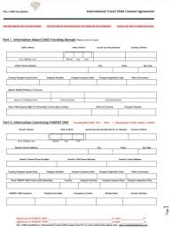 10 travel consent form templates pdf