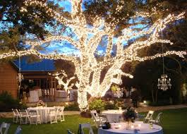 wedding reception decorating with lights