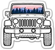 Amazon Com Jeep Girl Decal