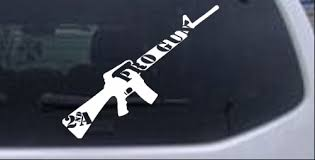 Pro Gun 2nd Amendment Riffel Car Or Truck Window Laptop Decal Sticker 8x6 9 Ebay