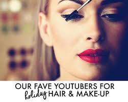 holiday hair and makeup tutorials