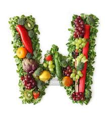 Fruit And Vegetable Alphabet Letter W Wall Decal Pixers We Live To Change