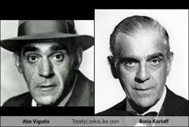 Abe Vigoda Totally Looks Like Boris Karloff - Totally Looks Like