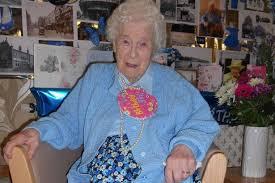 Hilda Graham celebrates 106th birthday at Chester care home - Cheshire Live