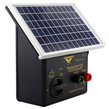 Thunderbird Blk12s Black Series 12km Solar Electric Fence Energiser Blk12s The Grit