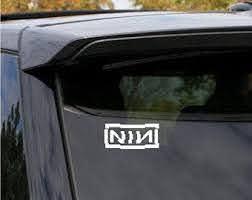 Nine Inch Nails Sin Vinyl Decal Etsy