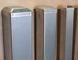 Steel Gate Post Plates
