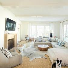 oversize beige sectional sofa design ideas