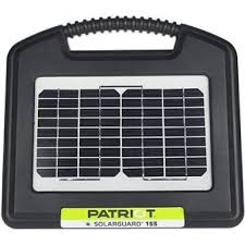 Patriot P5 Dual Powered Charger Electric Fence Energizer