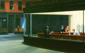 edward hopper nighthawks at the diner