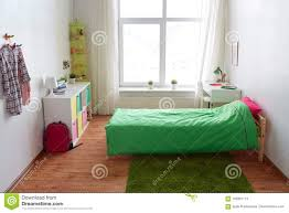 Kids Room Interior With Bed Table And Accessories Stock Image Image Of Basket Furnished 100361115