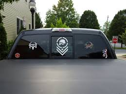 Show Me Your Rear Window Decals Stickers Page 69 Ford F150 Forum Community Of Ford Truck Fans