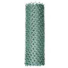 Yardgard 6 Ft X 50 Ft 11 5 Gauge Galvanized Steel Chain Link Fabric 308706a The Home Depot Fence Fabric Chain Link Fence Gate Chain Link Fence Cost