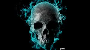 flaming skull wallpapers 50 images