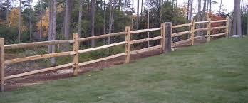 Rail Fencing Burns Fencing