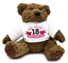 plaque plush bear teddy bday gift idea