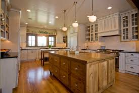 kitchen farmhouse with shelf over