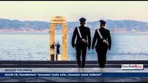 REGGIO CALABRIA Covid 19, Carabinieri: