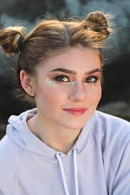 fun sparkly festival makeup tutorial