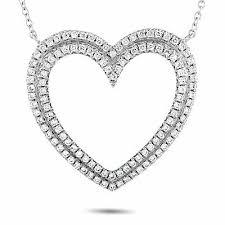 tiffany co platino diamante corazón