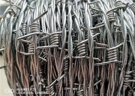High Tensile 400 Meters Galvanised Barbed Wire Price Per Roll For Kenya