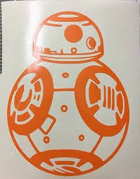 Star Wars Bb8 Vinyl Decal For Cars Windows Trucks X Wing Fighters Toasters Ebay