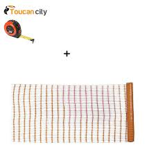 Toucan City Tape Measure And Everbilt 4 Ft X 100 Ft Orange Safety Barrier Fence 14993 0 48 Amazon Com Industrial Scientific
