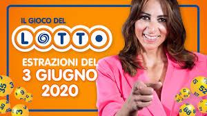 Estrazione Lotto 3 giugno 2020 con 10 e Lotto e Simbolotto