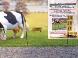 Hlt Fb039 Electric Fence Set 1 Brushwood Toys