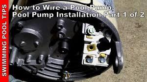 pool pump installation