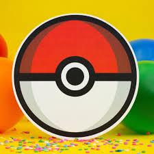 Invitaciones Cumpleanos Pokemon Forma De Pokebola Economicas