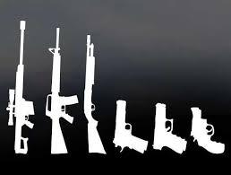 Vinyl Gun Family Decal Morale Patches Gun Goddess Gungoddess Com