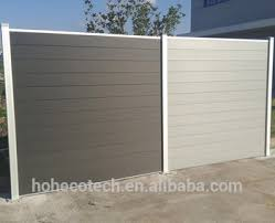 Eco Friendly Wpc Waterproof Outdoor Privacy Fence Panel Garden Wood Fence Buy Privacy Fence Wpc Fencing Panel Garden Wood Product On Alibaba Com