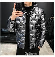 silver parka mens short winter jackets