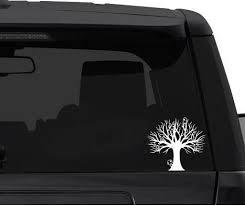 Tree Spirits Princess Mononoke Car Decal Sticker Cars Laptops Windows White Stick Emall Vinyl Decals Exterior Accessories Bumper Stickers Decals Magnets
