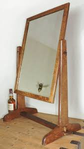crafts oak dressing table mirror