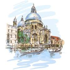 Venice Cathedral Of Santa Maria Della Salute Wall Decal Pixers We Live To Change