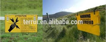 2020 Hot Sale Electric Fence Accessories Of Signs For Farming Or Garden Caution Sign Electric Fence Warning Sign Security Buy Electric Fencing Accessories Of Warning Signs Security Electric Fence Signs For Farming Or Garden Caution