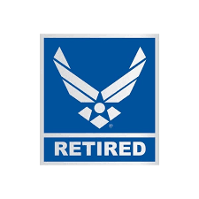 Shop Us Air Force Logo Retired Car Decal Overstock 10350241