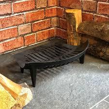 cast iron fireplace grate